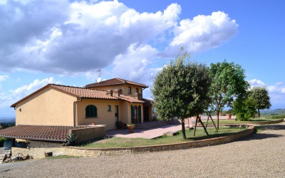 Podere Ghiole external view